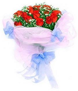 Erzincan online çiçekçi , çiçek siparişi  11 adet kırmızı güllerden buket modeli