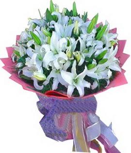 7 dal cazablanca görsel buketi  Erzincan yurtiçi ve yurtdışı çiçek siparişi