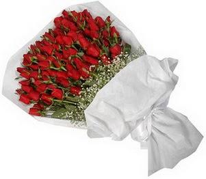 Erzincan uluslararası çiçek gönderme  51 adet kırmızı gül buket çiçeği