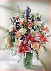 Erzincan çiçekçi telefonları  Kaliteli vazoda mevsim çiçekleri