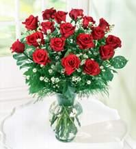 Erzincan çiçek yolla , çiçek gönder , çiçekçi   9 adet mika yada vazoda kirmizi güller