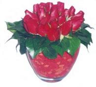 Erzincan çiçekçi telefonları  11 adet kaliteli kirmizi gül - anneler günü seçimi ideal
