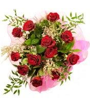 12 adet kırmızı gül buketi  Erzincan ucuz çiçek gönder