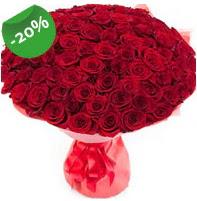 Özel mi Özel buket 101 adet kırmızı gül  Erzincan hediye çiçek yolla