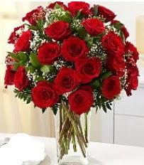 Vazo içerisinde 33 adet kırmızı gül  Erzincan çiçekçi telefonları