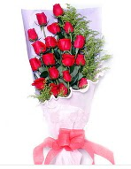 19 adet kırmızı gül buketi  Erzincan çiçek , çiçekçi , çiçekçilik