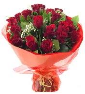12 adet görsel bir buket tanzimi  Erzincan çiçek yolla