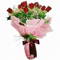 Erzincan online çiçekçi , çiçek siparişi  12 adet kirmizi kalite gül