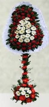 Erzincan çiçek yolla , çiçek gönder , çiçekçi   çift katlı düğün açılış çiçeği