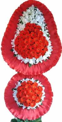 Erzincan çiçek gönderme  Çift katlı kaliteli düğün açılış sepeti