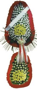 Çift katlı düğün açılış çiçeği  Erzincan internetten çiçek satışı