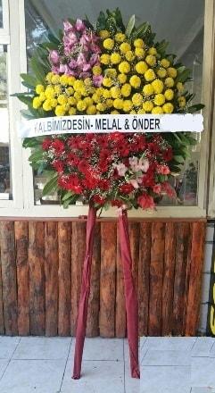 Erzincan hediye çiçek yolla  Cenaze çiçek modeli