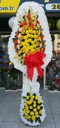 Çift katlı düğün nikah açılış çiçeği  Erzincan çiçek siparişi vermek