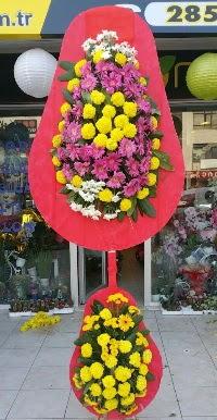 Çift katlı düğün nikah açılış çiçek modeli  Erzincan çiçek gönderme