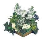 Erzincan çiçek yolla  Beyaz sebboy ve gül aranjmani