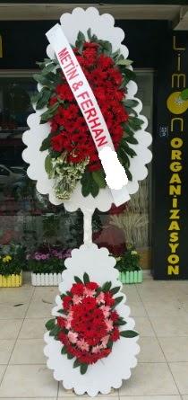 Çift katlı düğün nikah çiçeği modeli  Erzincan online çiçekçi , çiçek siparişi