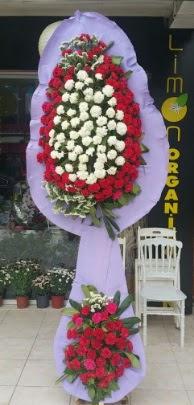 Çift katlı işyeri açılış çiçek modeli  Erzincan kaliteli taze ve ucuz çiçekler