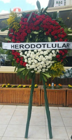 Cenaze çelengi cenazeye çiçek modeli  Erzincan çiçek servisi , çiçekçi adresleri
