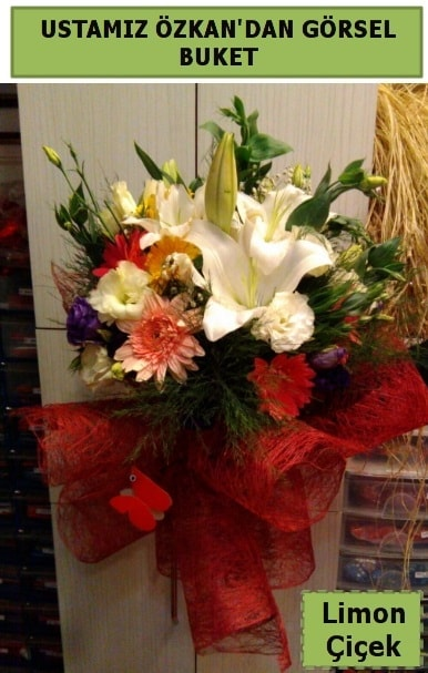 Karışık görsel mevsim çiçeği  Erzincan kaliteli taze ve ucuz çiçekler