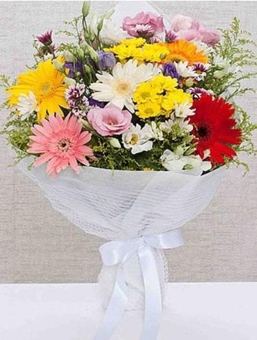 Karışık Mevsim Buketleri  Erzincan kaliteli taze ve ucuz çiçekler