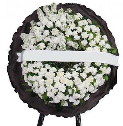 Cenaze çelengi çiçeği modelleri  Erzincan çiçek yolla , çiçek gönder , çiçekçi