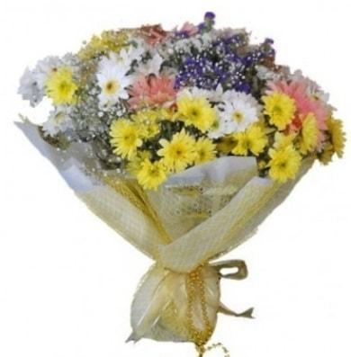 Karışık mevsim çiçeği  Erzincan çiçek servisi , çiçekçi adresleri
