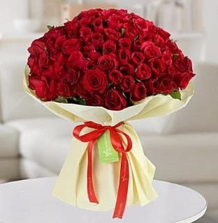 101 adet kırmızı gül buketi koca demet  Erzincan çiçek gönderme sitemiz güvenlidir