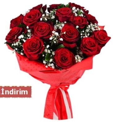 12 Adet kırmızı aşk gülleri  Erzincan çiçek servisi , çiçekçi adresleri