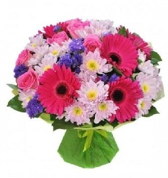Karışık mevsim buketi mevsimsel buket  Erzincan çiçek servisi , çiçekçi adresleri