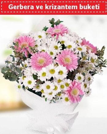 Papatya ve Gerbera Buketi  Erzincan çiçek mağazası , çiçekçi adresleri