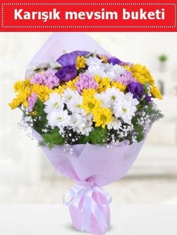 Karışık Kır Çiçeği Buketi  Erzincan çiçek siparişi vermek