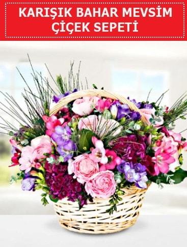 Karışık mevsim bahar çiçekleri  Erzincan kaliteli taze ve ucuz çiçekler